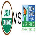 Differences between USDA Organic label and Non-GMO Project Verified Seal