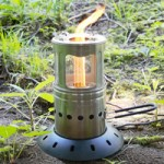 FireFly Lantern Stove for Outdoor Cooking and Lighting